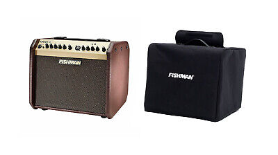 Fishman PRO-LBT-500 Loudbox Mini Acoustic Guitar Bluetooth Amplifier with Cover