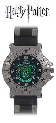 Harry Potter Slytherin Crest Watch, Wizarding World, Hogwarts, House Colors RARE Hogwarts House Colors