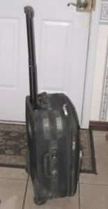 """Small 22"""" Carry-on Luggage on wheels, good condition"""