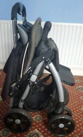 Mothercare Pushchair with FREE car seat!