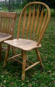 Solid pine chair... $10