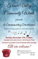 Fraser Valley Community Winds - Salvation Army Christmas Kettles
