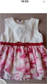 IDo girls designer dress 6 months brand new