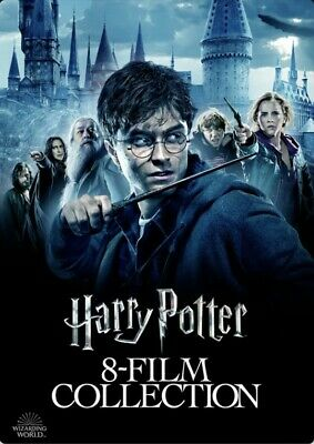 Harry Potter 8-Film Collection (2017) HDX VUDU INSTAWATCH PROMO DIGITAL ONLY