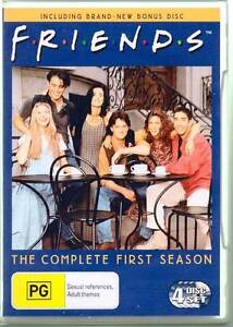 FRIENDS FRENDS SEASON SERIES ONE 1 DVD BOXSET 4 DISCS AS NEW Heidelberg West Banyule Area Preview