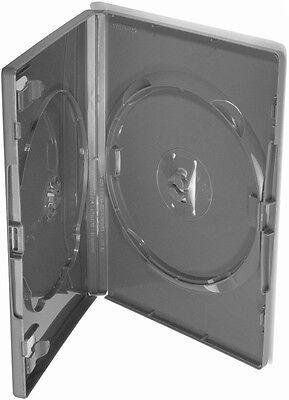50 AMARAY DVD double Black Case für 2 Disk Box Leer Hülle Hüllen Schwarz
