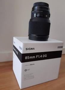 Sigma Art 85mm 1.4 for Canon