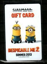 MCDONALD/'S $0 Minions collectible 2015 Gift Card #2 Canada