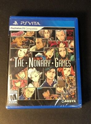 Zero Escape Volume 1 2   The Nonary Games     Ps Vita  New
