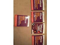 GRE exam preparation books - full set of study guides