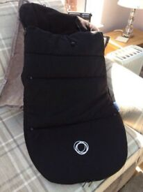 Bugaboo Universal footmuff in black in immaculate condition