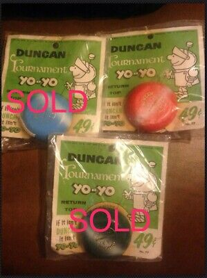 Choice One Vintage 1950-1960's Duncan Tournament Wood Yo-Yo Original Packaging