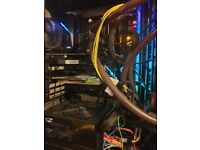 AMD 1950X Threadripper and Asus Zenith Extreme motherboard 16GB DDR4 RAM & TR4 waterblock combo