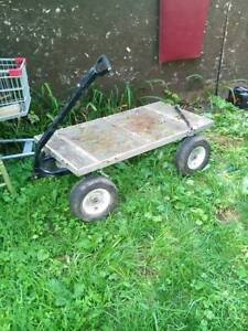 Garden cart, to move heavy items around the yard
