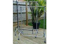 Adjustable Garment Rack Clothing Rail with Wheels