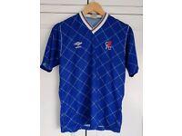Vintage 1987 Chelsea Football Shirt Umbro