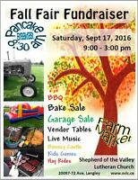 Fall Fair at Shepherd of the Valley Lutheran Church