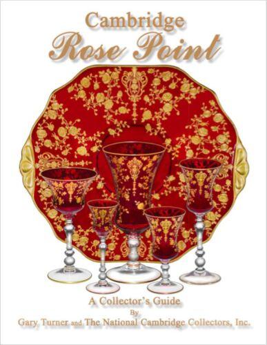 Book: Cambridge Rose Point, A Collector's Guide