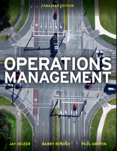 COMM 3501: Operations Management Textbook for Dalhousie