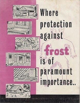 Desmo Paraffin Heaters 1957-58 UK Market Foldout Sales Brochure