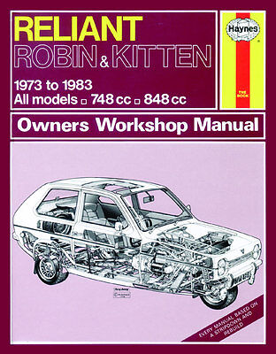 0436 Haynes Reliant Robin and Kitten (73 - 83) up to A Workshop Manual