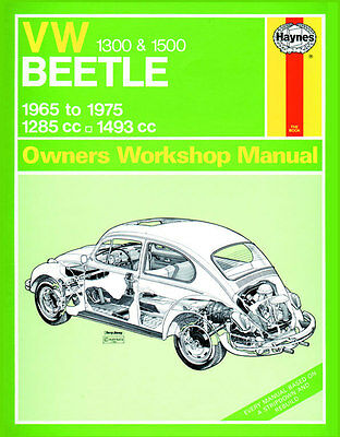 0039 Haynes VW Beetle 1300 and 1500 (1965 - 1975) up to P Workshop Manual