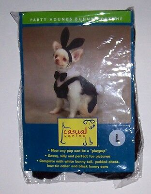 Hound Dog Halloween Costume (NWT Casual Canine Party Hounds Bunny Costume Sz Large Dog Cat Halloween)