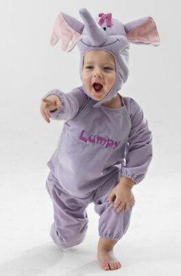 3D-Kostüm LUMPY WINNIE POOH DISNEY Baby-Elefant (Winnie The Pooh Baby Kostüm)