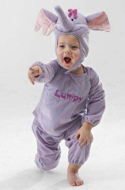 3D-Kostüm LUMPY WINNIE POOH DISNEY Baby-Elefant 74-116