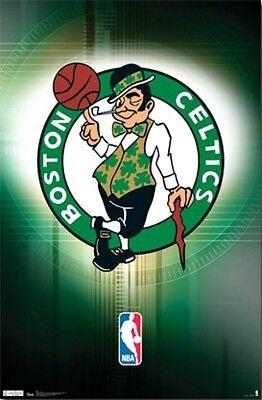 (Boston Celtics NBA Basketball Sports Team Logo Poster Print)