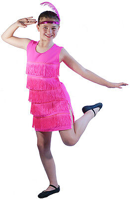 Roaring 20's-Charleston-Flapper-Bugsy Malone FLAPPER DRESS All Ages & Sizes  - 20s Costume