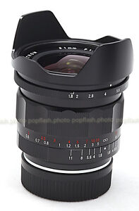 VOIGTLANDER 21MM F/1.8 ULTRON ASPHERICAL LEICA M MOUNT LENS NEW!