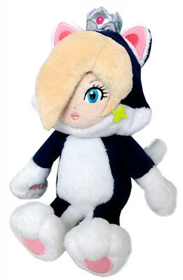 "NEW 9.5"" Neko Cat Rosalina (1387) Nintendo Super Mario Little Buddy Plush Doll"