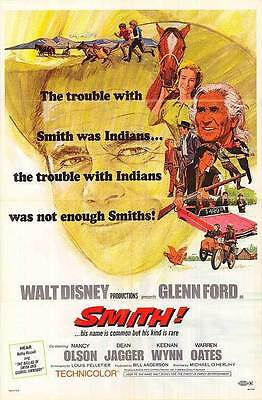 GLENN FORD, WARREN OATES, CHIEF DAN GEORGE - original 1969 western movie poster