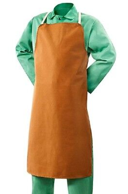 Steiner 10126 Welding Bib Apron 25 W X 40 Long Buctan 12 Oz. Fr Cotton