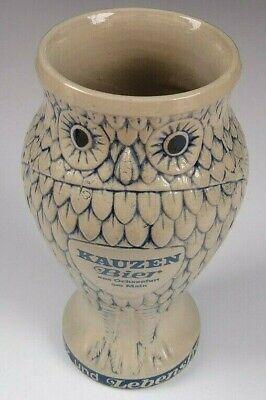 Vintage Kauzen Bier Owl German Beer Mug 6-5/8