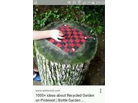 Wanted Tree stumps needed please