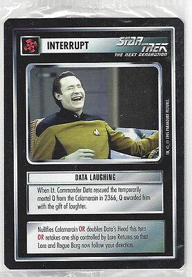 CCG Star Trek 8 Data Laughing Promo