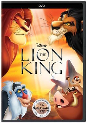 The Lion King (DVD) 1994 Disney