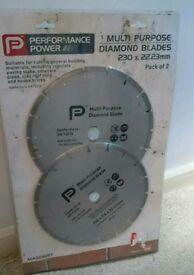 Multi purpose diamond blades