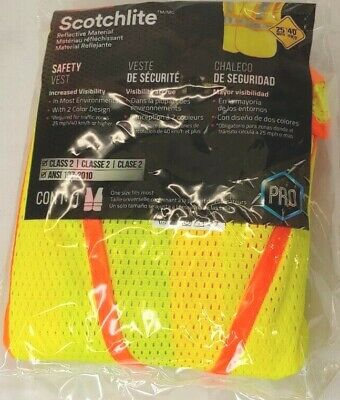 3m Reflective Clothing Class 2 Construction Safety Vest Choose Color
