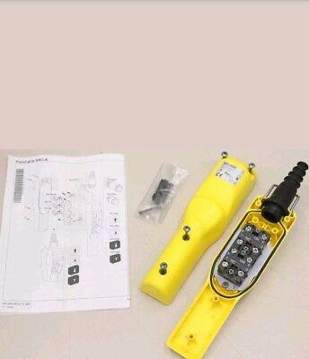 Schneider Xac-a205 2 Button Crainhoist Pandant Station