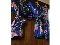 Bridesmaids robes/dressing gown