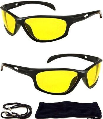 HD Aviator Sunglasses Driver Night Vision Driving Glasses Yellow Lens Anti - Aviator Glasses