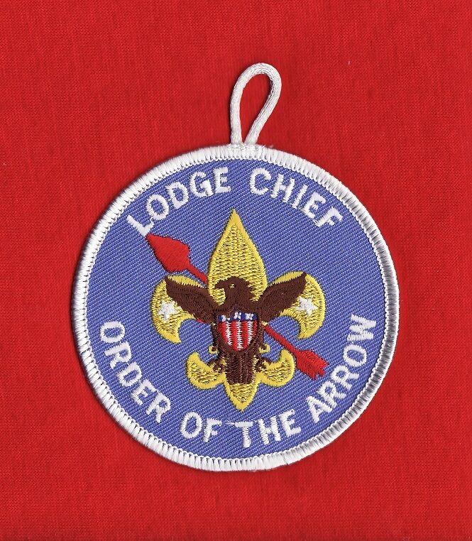 LODGE Chief OA Order Arrow Patch Boy Scout BSA