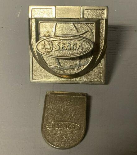 Seaga Universal Candy Vending Machine Gold .25 Cent Coin Mech Mechanism & Chute