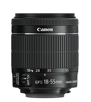 Canon Ef S 18 55Mm 18 55  F 3 5 5 6 Is Stm Camera Lens Brand New