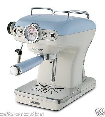 ARIETE 1389 Macchina caffe espresso Vintage coffee maker 1-2 tazze 900W CELESTE
