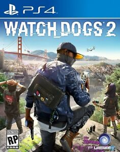 Watch Dogs 2 (PS4, sealed)