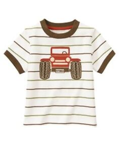 NWT Boys Gymboree OUTBACK ADVENTURE Tee Short Overall 3-6-12-18-24 2T 3T 4T 5T